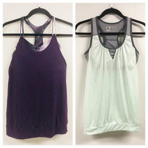 Alo and Reebok Athletic 2 Set Tank Tops